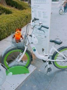 maus-an-der-fahrrad-leihstation