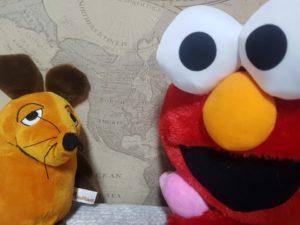 Die Maus mit Elmo