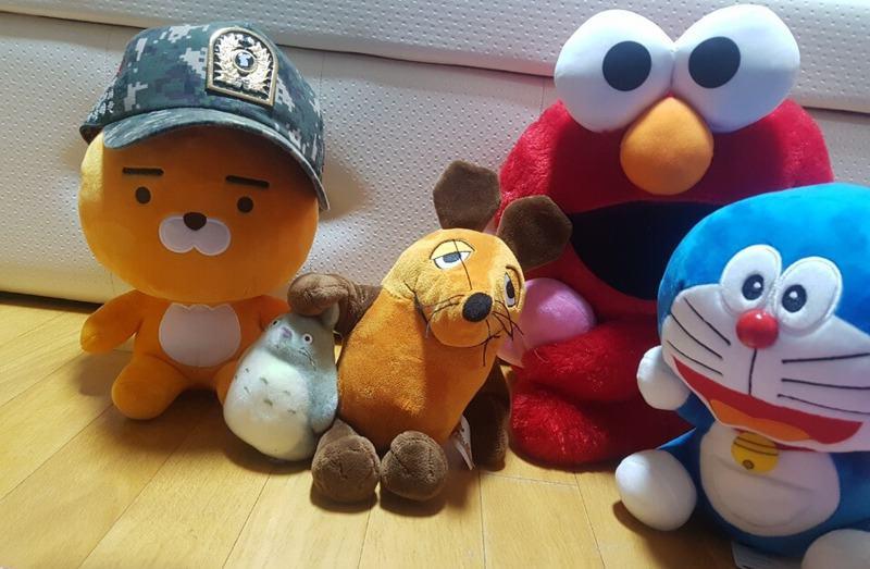 Die Maus mit neuen Freunden