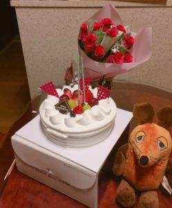 Die Maus hat eine Geburtstagsfeier vorbereitet.