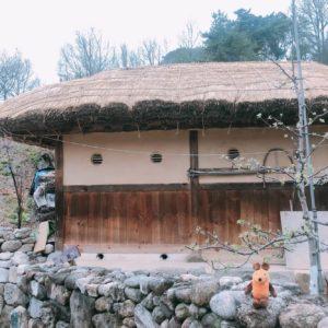 Haus mit Strohdach (Choga-Haus)