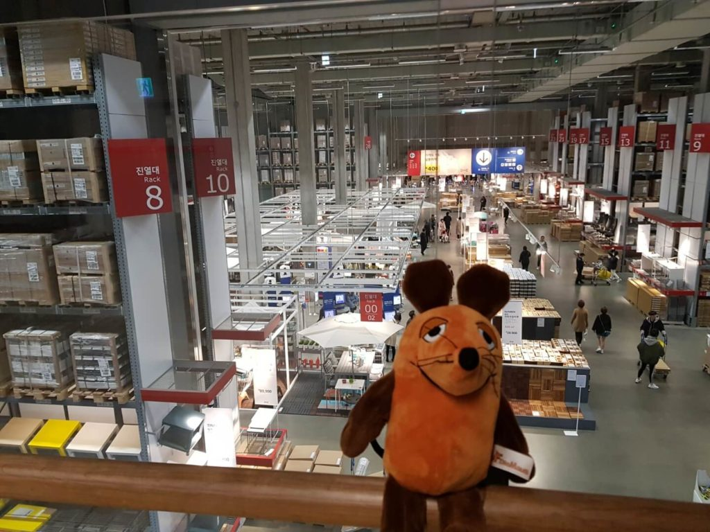 Die Maus in Ikea